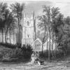St MAWGAN CHURCH AND LANHERN NUNNERY CORNWALL