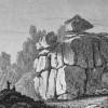 THE LOGAN ROCK TRERYN CASTLE CORNWALL