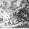 VIEW OF A FARM HOUSE AT HENGAR CORNWALL