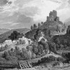 LAUNCESTON CASTLE CORNWALL; PENTILLIE